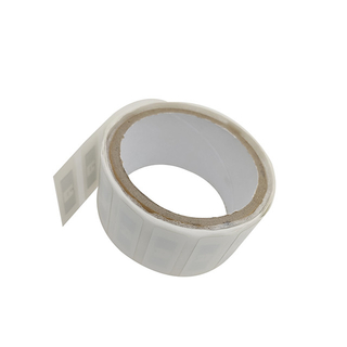 43*18mm Impinj Monza R6 RFID UHF Coated Paper Label